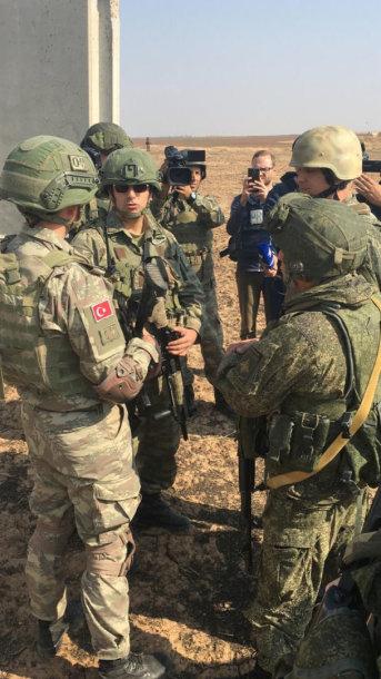 Turkijos ir Rusijos kariai Sirijoje