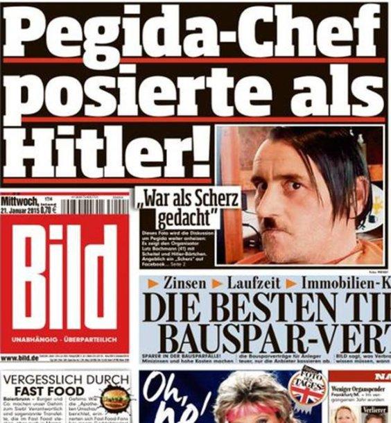 Vokietijos antiislamiško judėjimo vadovas Lutzas Bachmannas atsistatydina.
