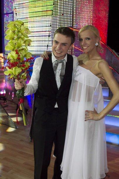 Vadimas Šuško ir Laura Valytė