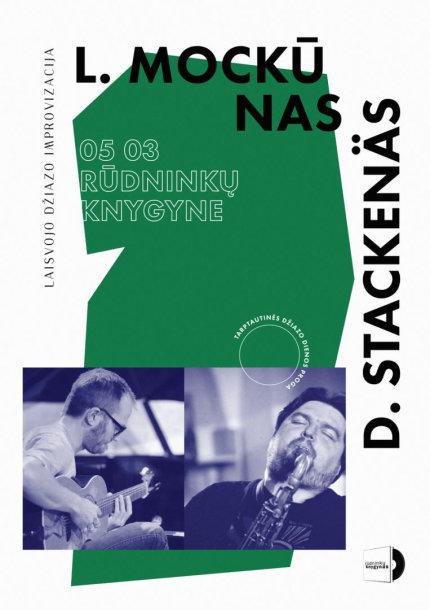 Džiazo dienos proga – ypatingas Liudo Mockūno ir Davido Stackenäs pasirodymas