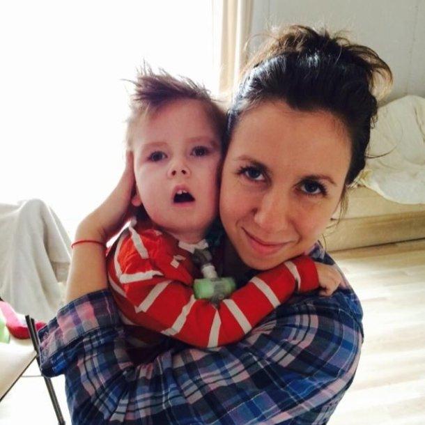 Danilas su mama Tatjana