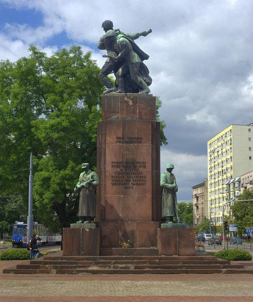 Varšuvos paminklas Lenkų ir sovietų ginklo brolijai