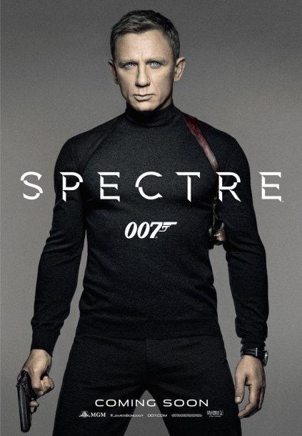 """Filmo """"Spectre"""" plakatas"""