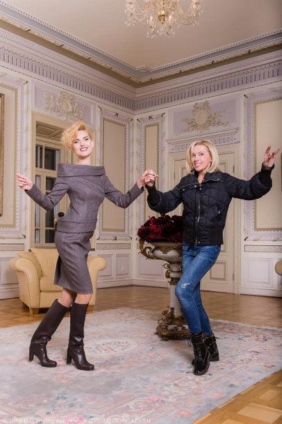 Ernesta Elzbergaitė ir Audronė Bunikienė