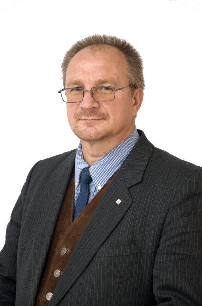 VDU Gamtos mokslų fakulteto profesorius Algimantas Paulauskas
