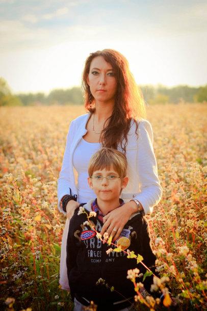Tadukas su mama Vitalija