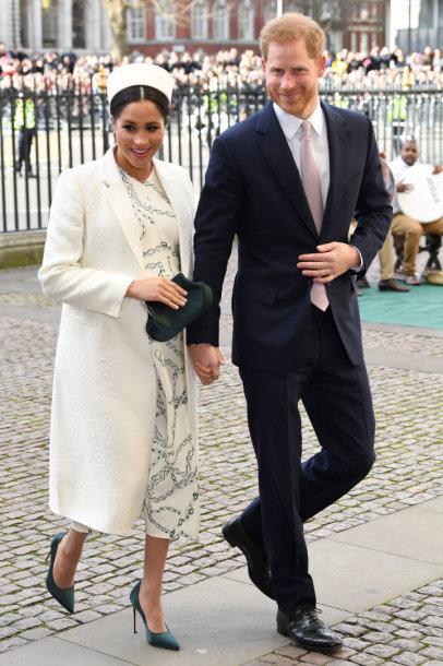 Sasekso hercogienė Meghan ir princas Harry