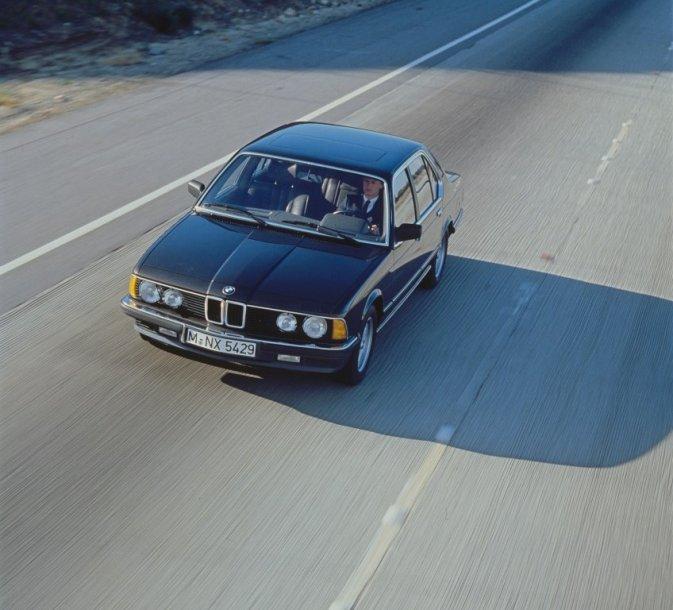 Pirmos kartos BMW 7 (1977-1986 m.)