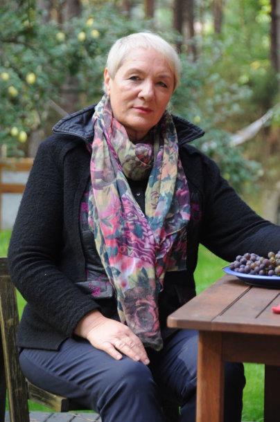Rašytoja Vidmantė Jasukaitytė 2016 m.