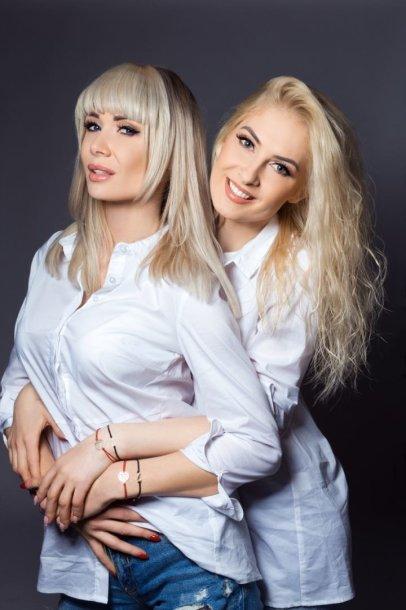 Natalija Bunkė ir Kristina Ivanova