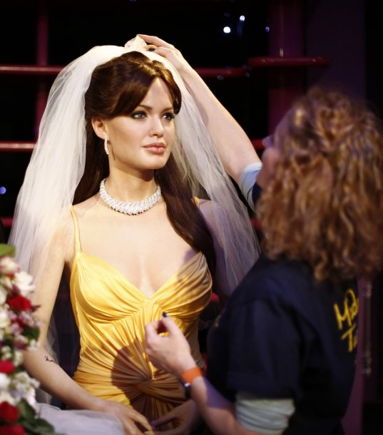 Angelinos Jolie vaškinė figūra