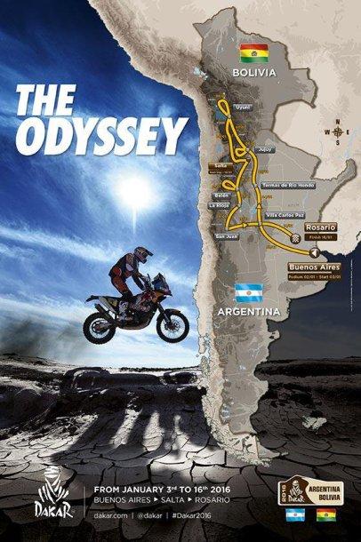 2016-ųjų Dakaro maršrutas