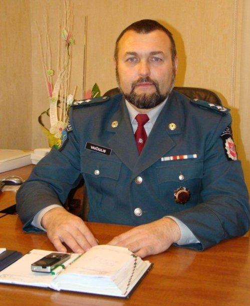 Buvęs Rietavo policijos viršininkas Aloyzas Vaičiulis