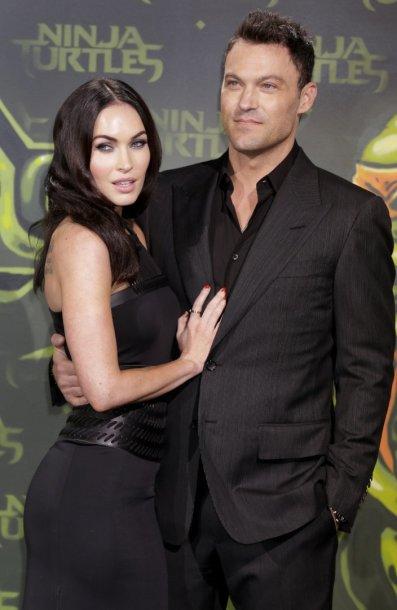 Megan Fox ir Brianas Austinas Greenas