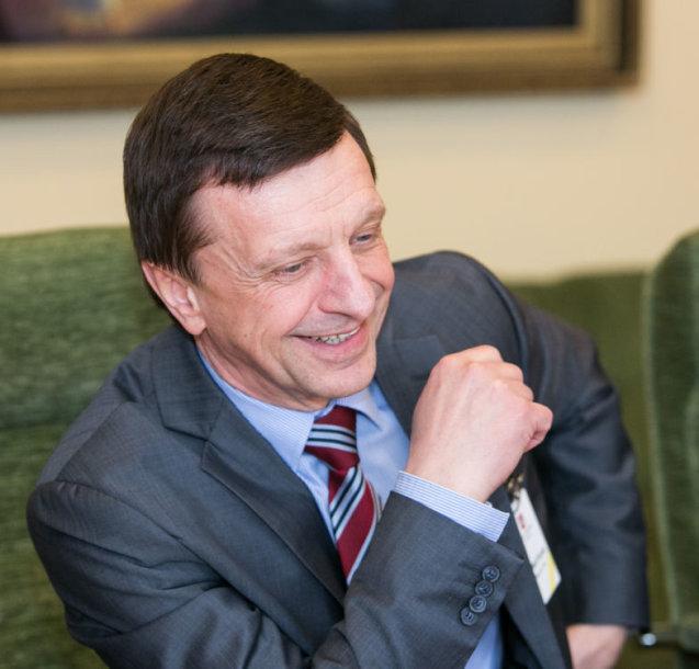 Lietuvos universitetų rektorių konferencijos prezidentas Petras Baršauskas