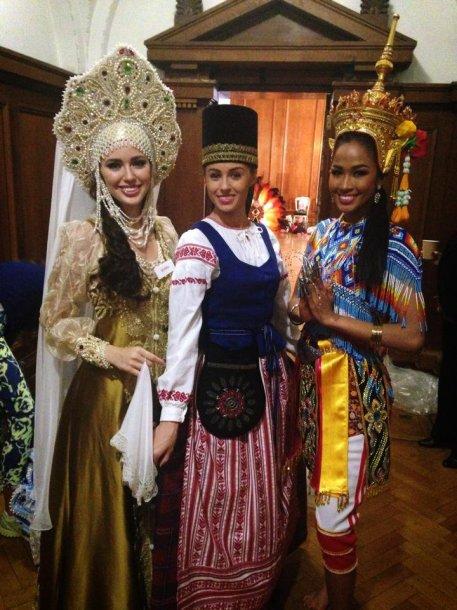 Mis Rusija, Mis Lietuva ir Mis Tailandas
