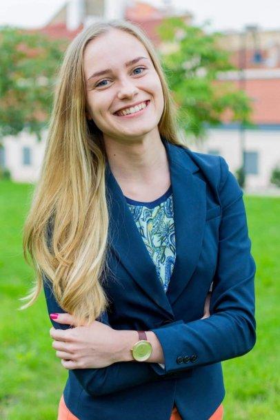 Šiais metais ISM Vadybos ir ekonomikos universitetui ir TEDxISM renginiui atstovavusi Finansų bakalauro studijų trečiakursė Dovilė Daugvilaitė