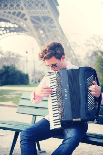Martynas Levickis Paryžiuje