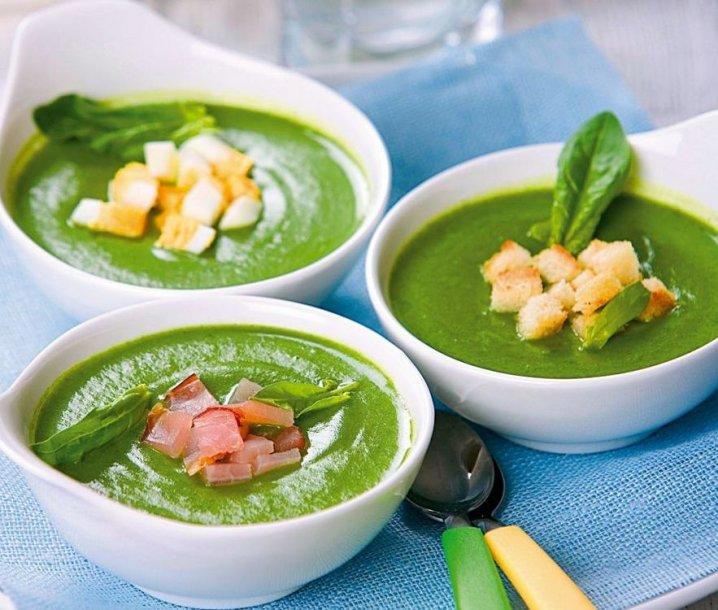 Trinta špinatų sriuba