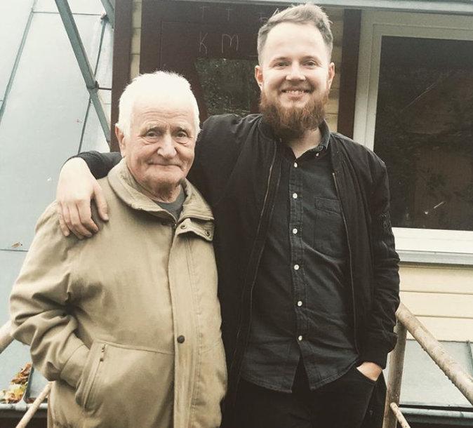 Mantas su seneliu Vincu