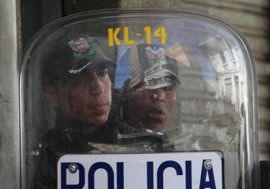 Bolivijos policija