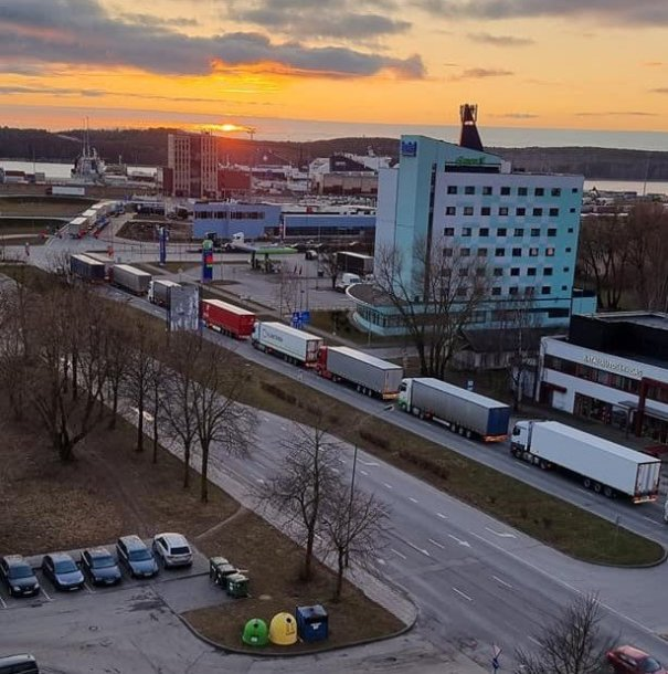 Vilkikų spūstys Klaipėdos gatvėse, Baltijos prospekte, kelia nerimą