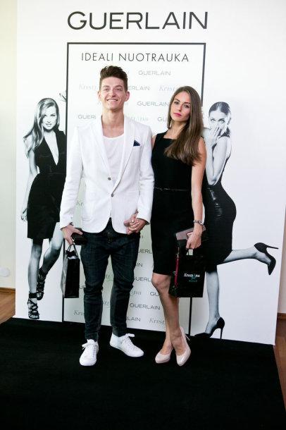 Tomas Legenzovas ir 2014-ųjų Mis Lietuva Agnė Kavaliauskaitė