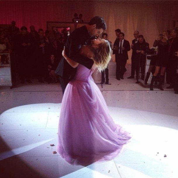 Kaley Cuoco ir Ryano Sweetingo vestuvės