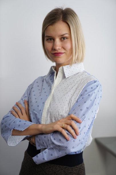 Gydytoja Jekaterina Kovrigina