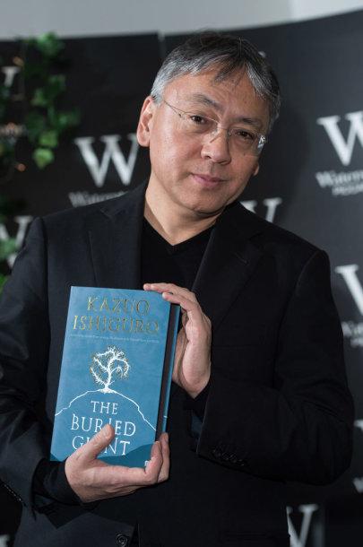 Nobelio literatūros premijos laureatu paskelbtas Kazuo Ishiguro
