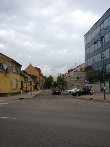 J.Zauerveino gatvė Klaipėdoje. Joje gyvena ir savivaldybės administracijos direktorius.