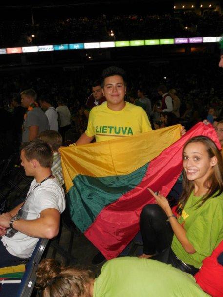 Fabianas serga už Lietuvą