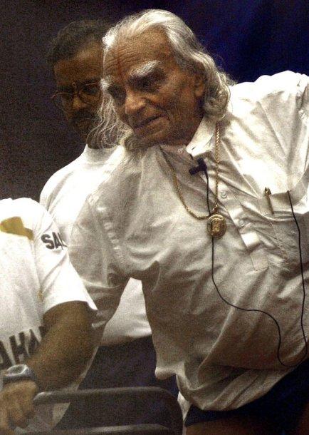 B.K.S.Iyengaras 2003-iaisiais