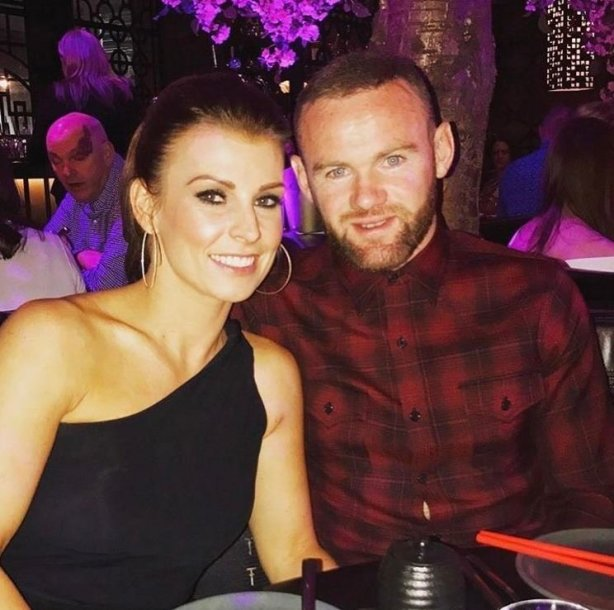 Wayne'as Rooney su žmona Coleen