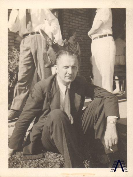 Kleopas Jurgelionis 1955 m.
