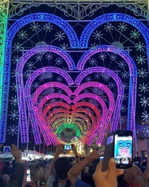 Šviesų festivalyje įsižiebs širdys