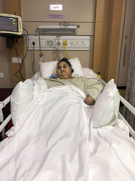 37 metų Egipto pilietė Eman Ahmed Abd El Aty prieš operaciją