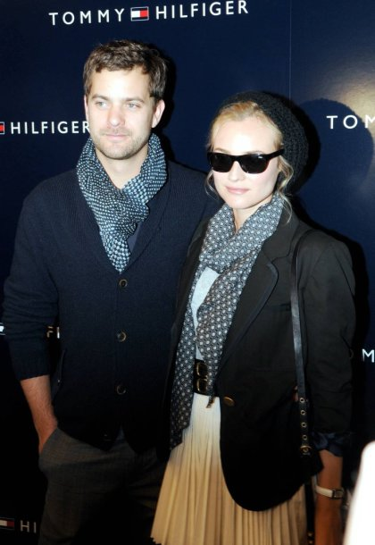Aktorė Diane Kruger su Joshua Jacksonu