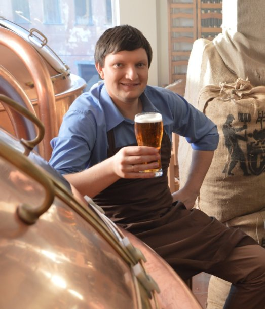 """""""Meister"""" alaus formulė aludario mintyse brandinta ne vienerius metus / Foto aut. Viktorija Šaraitė"""