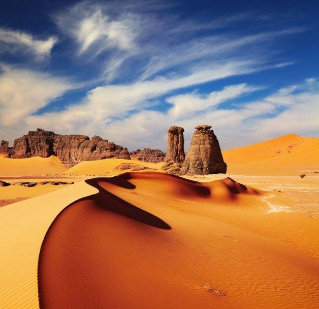 Sacharos dykuma Alžyre