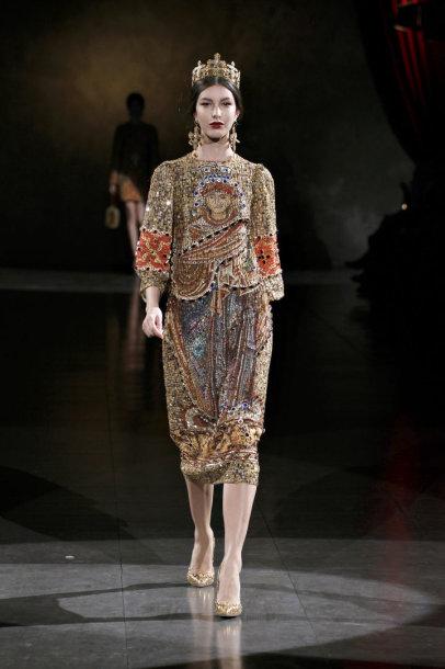 """Dolce & Gabbana""  rudens-žiemos kolekcija"