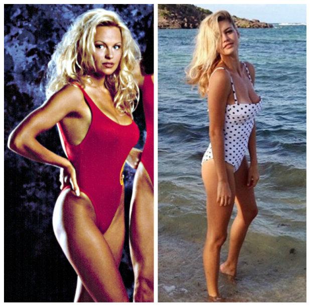 Pamela Anderson ir Kelly Rohrbach