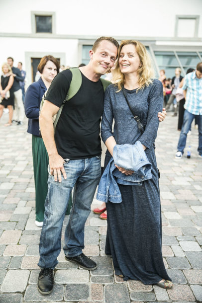Vilius Alesius su žmona Egle Driukaite