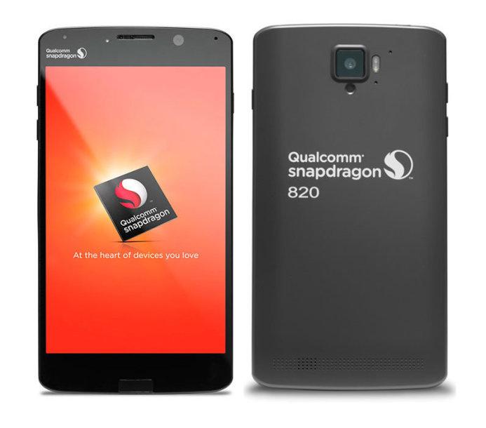 Pirmasis išmanus telefonas su Qualcomm Snapdragon 820