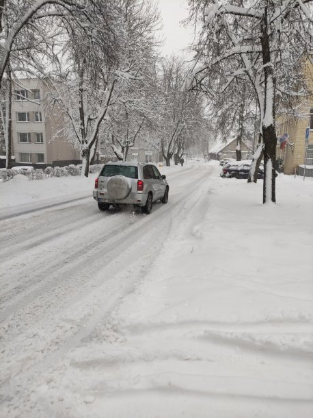 Snieguotos Trakų gatvės