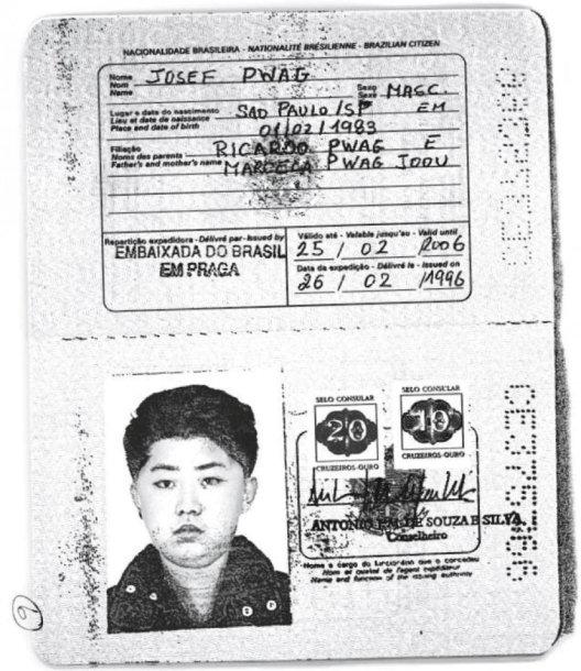 Suklastotas braziliškas Kim Jong Uno asmens dokumentas